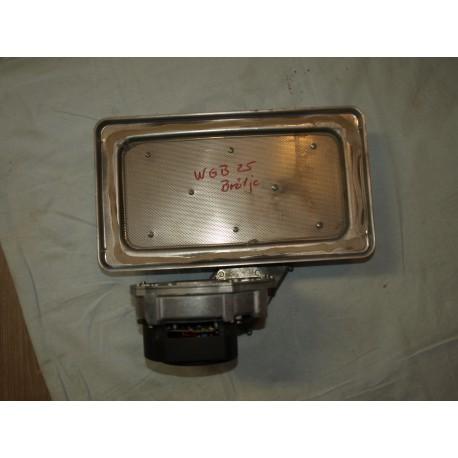 Brennerplatte mit Gebläse Brötje WGB 15-25