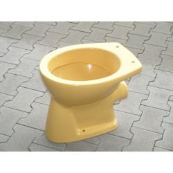 WC und Spülkasten in Curry