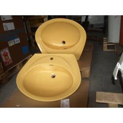Waschbecken in Curry